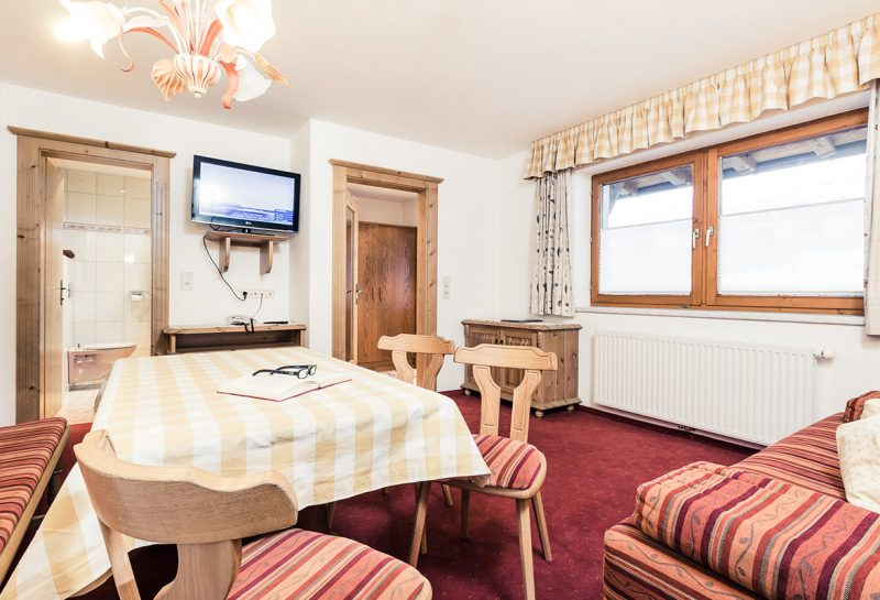 Appartements direkt an der Skipiste